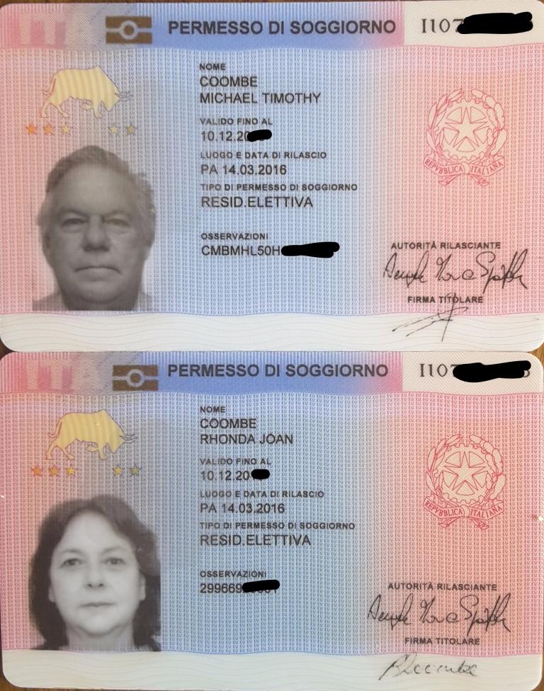 Awesome Italy Permesso Di Soggiorno Pics - Comads897.com ...